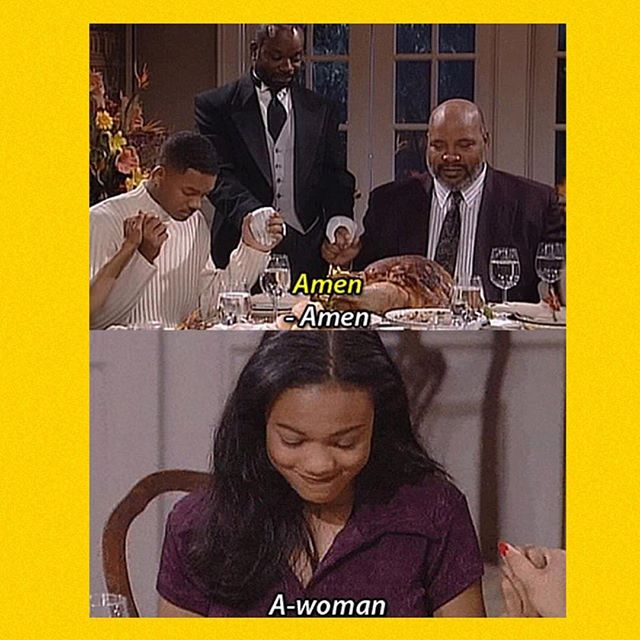 Bout time! 💁🏾‍♀️ happy #InternationalWomensDay #Awoman #FreshPrinceOfBelAir